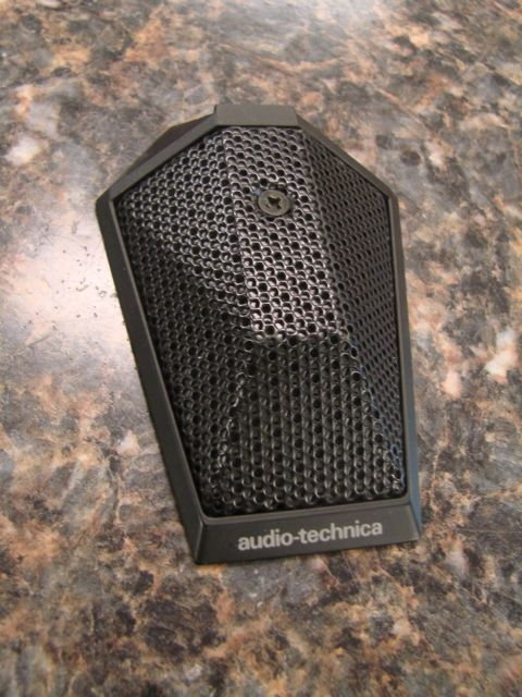 Audio Technica At851a Uniplate Tabeltop Boundary Condenser Microphone Qty Audio Technica Microphone Audio