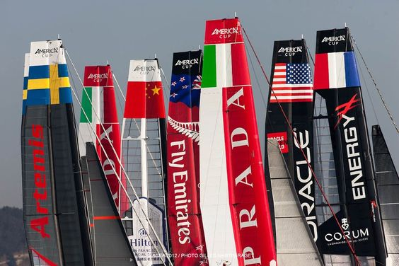 Ziemlich internationale #americascup