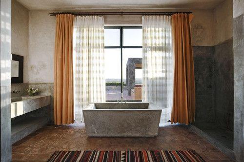Poured In Place Concrete Bathtub Design, Pictures, Remodel, Decor And Ideas  | Concrete Bathtubs | Pinterest | Concrete Bathtub, Bathtubs And Concrete