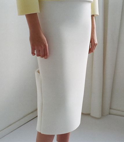 Foam Skirt by Nadine Goepfert