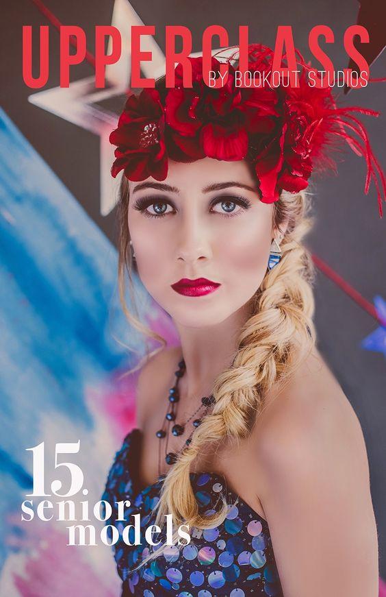 Taylor Dupree - Senior Model Magazine Cover Contest - Bookout Studios Blog - Senior pictures