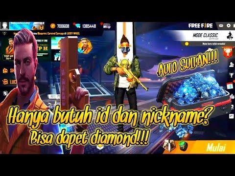Apk Mod Unlimited Diamond Terbaru Auto Sultan Hack Free Fire Youtube Hack Free Fire Free Fire Free Fire Hack Diamond