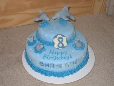 dolphin By krstik on CakeCentral.com