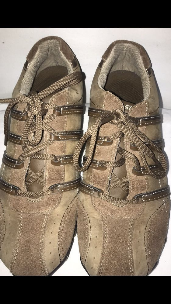 Women's Skechers Leather Tennis Shoes