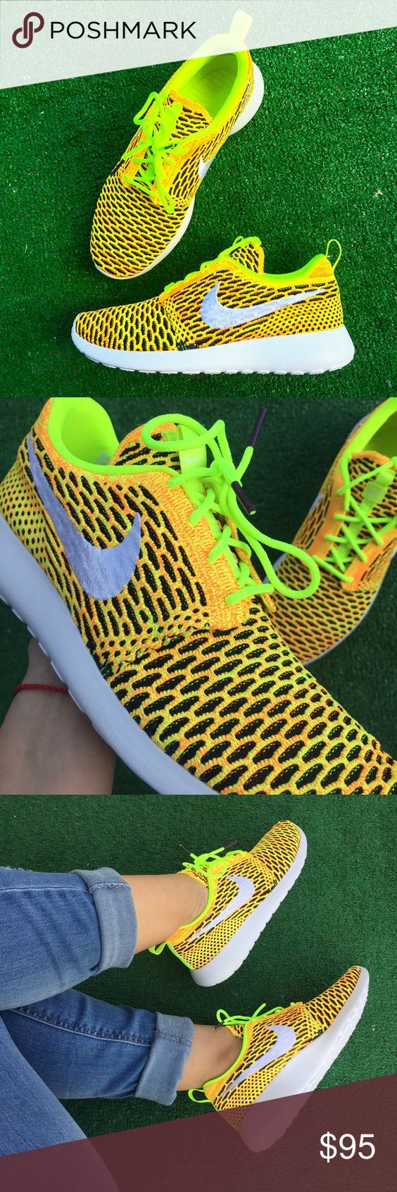 Women's Nike Roshe one Flyknit sneakers •Brand new •Authentic •Box not included Nike Shoes Sneakers