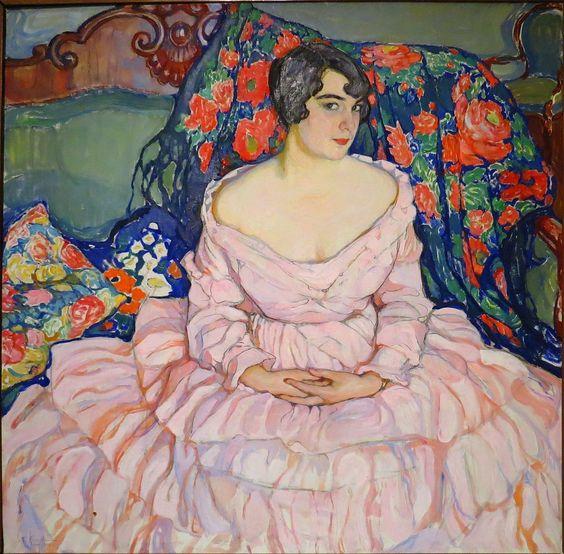 Elena Andreevna Kiceliova (1878-1974, Russia)