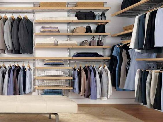 diy walk in closet - Google Search