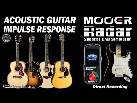 Acoustic Guitar Impulse Response Fender Strat Mooer Radar Youtube