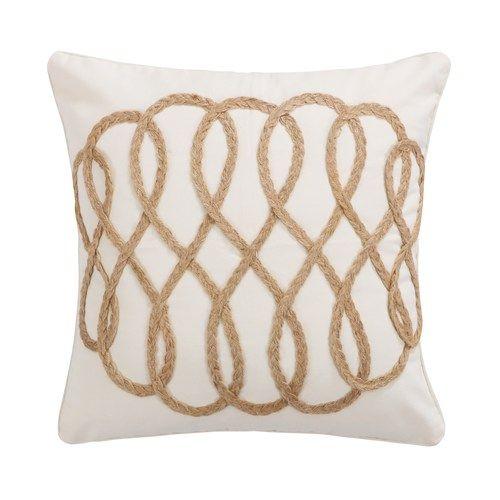 Capistrano Rope Lattice Throw Pillow Throw Pillows Small Throw Pillows Pillows