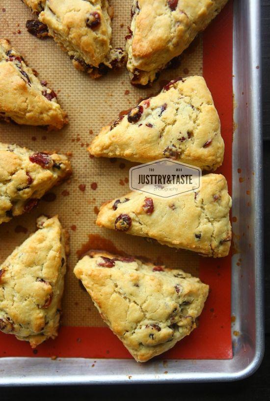 Cranberry Scones Scone Resep Makanan Makanan Dan Minuman