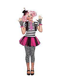 Clownin Around Girls Costume