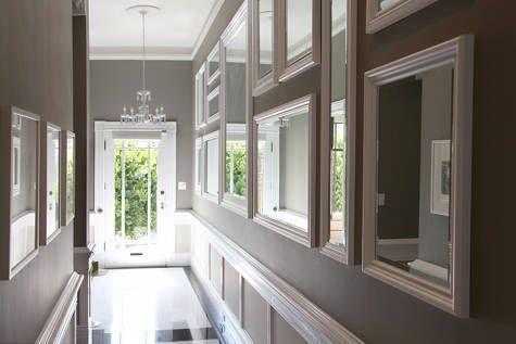 Mirrored Wall, Hallway