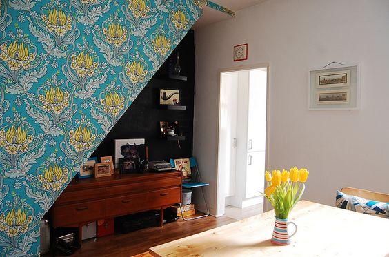 Dining room by afeitar, via Flickr