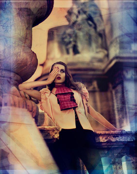 Editorial fashion photo from the Ben Trovato Blog.