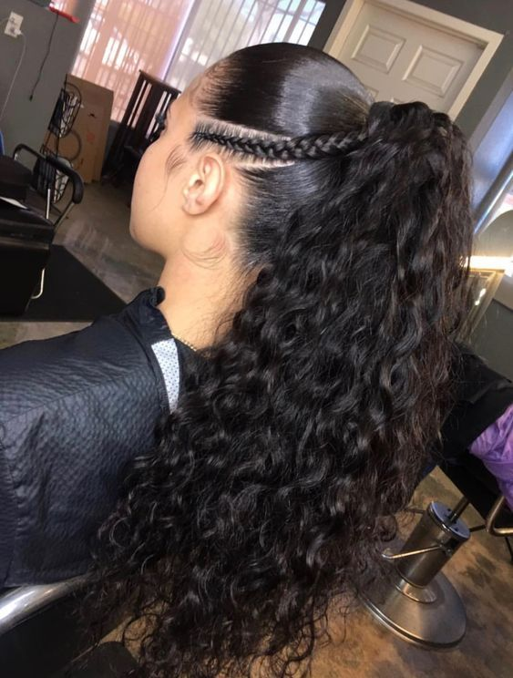 250 Density 360 Pre Plucked Lace Frontal Wig With Baby Hair