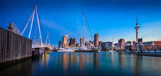 """10. Auckland: Auckland gilt als größte und vielseitigste Stadt Neuseelands. Die """"Stadt der Segel"""" liegt eingebettet zwischen Pazifik und Tasmanischer See. (Bild: Picale/ Flickr)"""