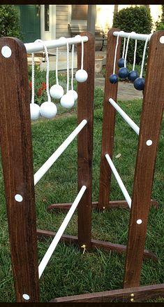 Toss your Balls Ladder Golf