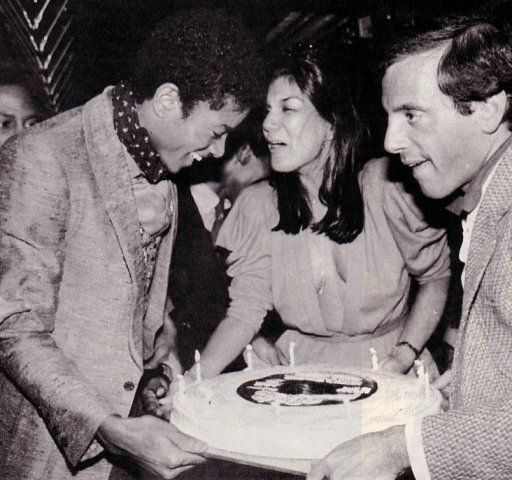 Michael Jackson, Carmen D Alessio and Steve Rubell at ...