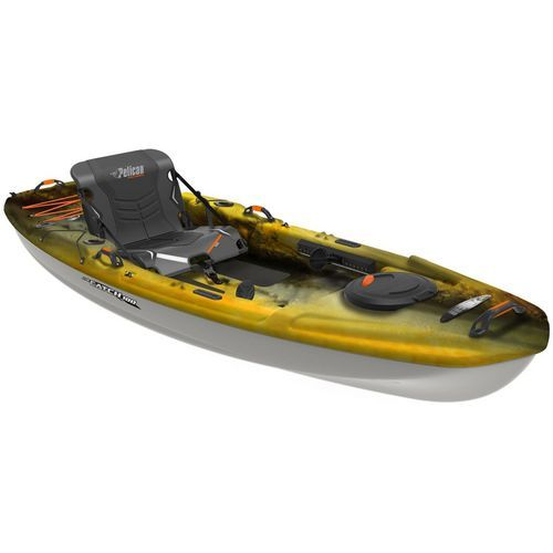 Pelican Premium The Catch 100 10 Ft Sit On Top Fishing Kayak View Number 2 Kayak Fishing Top Fishing Angler Kayak