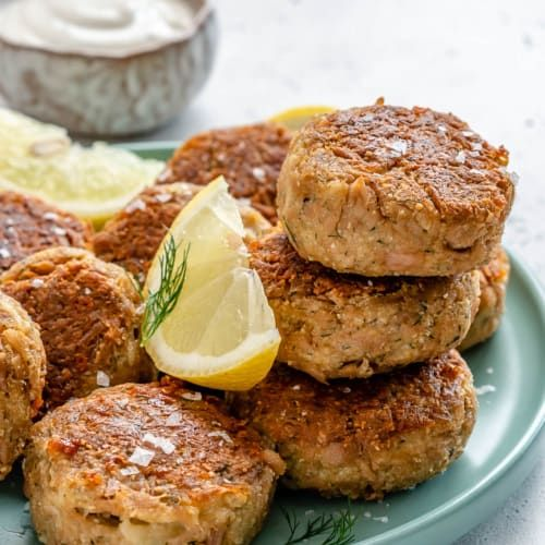 Crispy Tuna Patties Recipe Tuna Patties Easy Tuna Patties Tuna Patties Healthy