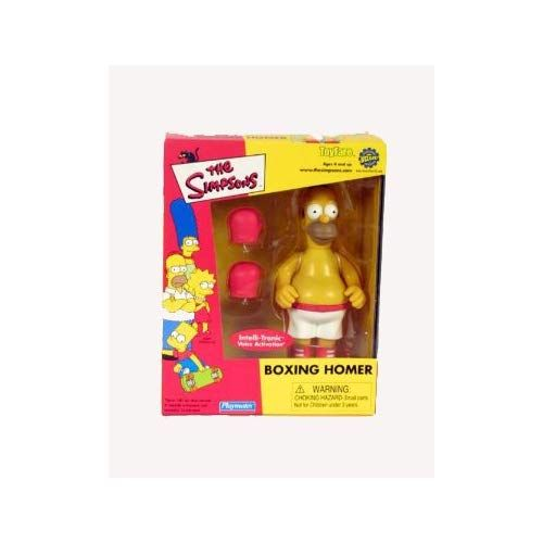 THE SIMPSON Pin Pal Moe WOS Playmates Mail away Interactive Figure