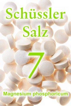 Erfahren Sie, wie gut das Schüssler Salz 7, Magnesium phosphoricum, als Schmerzmittel hilft, wie das Schüssler Salz Nr. 7 gegen Krämpfe wirkt ...