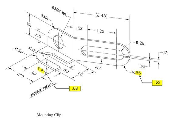 sheet metal drawing example pdf