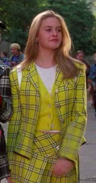 Oh, Clueless, how you shaped my formative fashion years! I am on a one woman mission to bring plaid skirts & matching jackets back into our fashion lexicon!