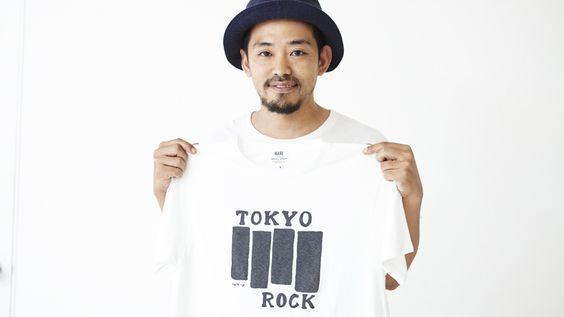 HARE  HOUYHNHNM3人のアーティストによるロックTシャツが発売 Vol.03 ナイジェルグラフ