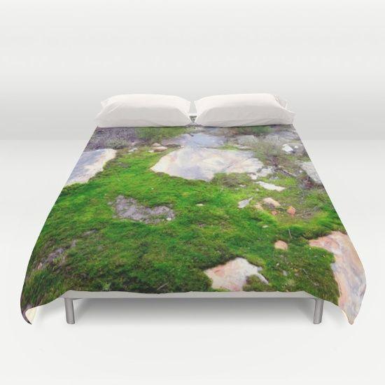 Volcanic Rocks, Moss, Forest Floor, Nature, Textures.