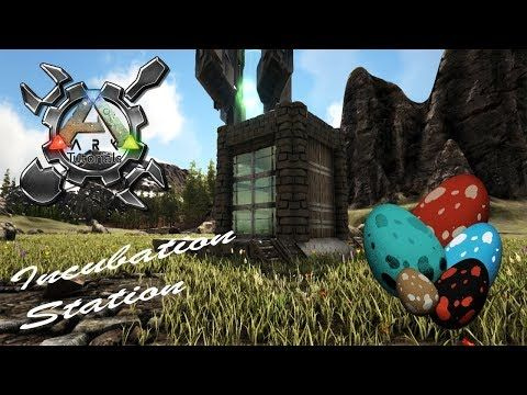 Ark Tutorials How To Build An Incubation Station In This Tutorial I Show You How To Ark Survival Evolved Bases Game Ark Survival Evolved Ark Survival Evolved