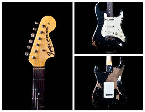 Fender CS Michael Landau Strat '68 Relic Black finish