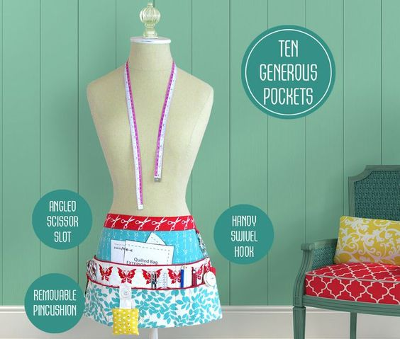 http://www.sew4home.com/projects/kitchen-linens/sewing-and-craft-half-apron
