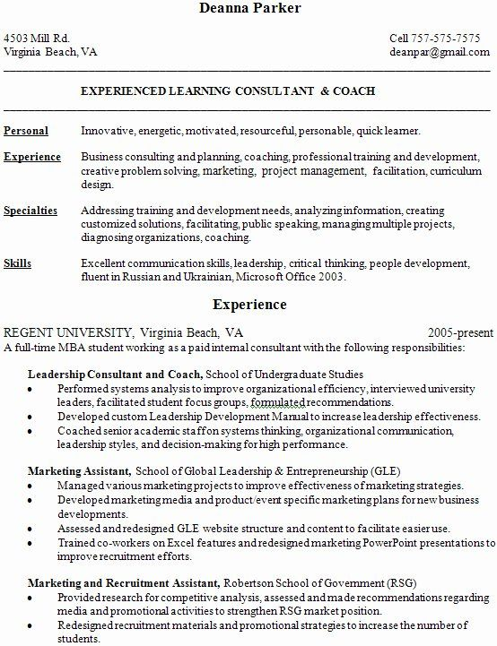 Financial Aid Counselor Resume Inspirational Good Vs Bad Resumes Student Services Di 2021