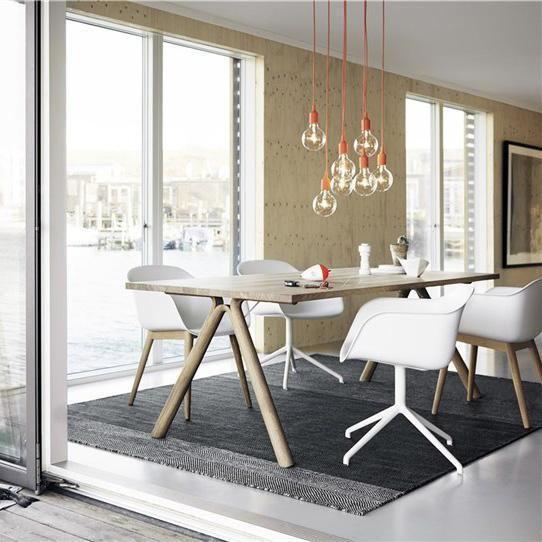 E27 Pendant Lamp Dining Table Living Room Furniture Sofas Modern Scandinavian Design