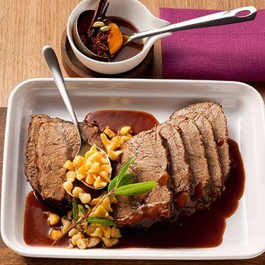Winter roast beef