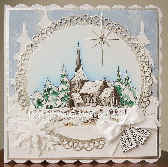 Mrs B's Blog: Little Church in the Snow