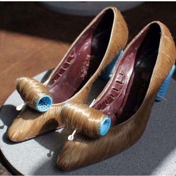 Sapato com arte