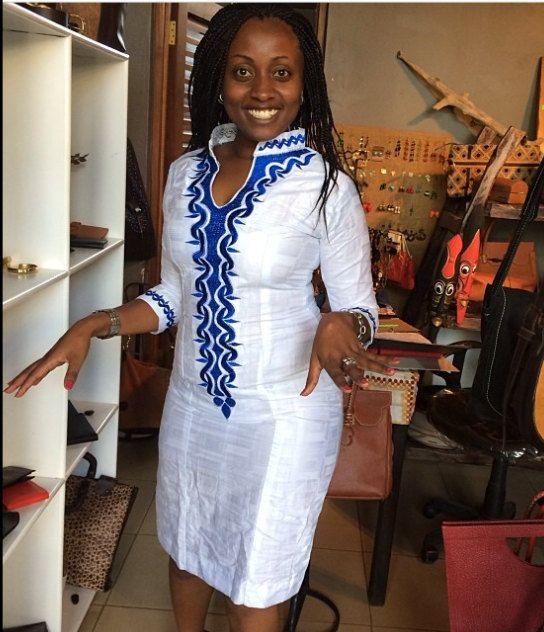 Robe africaine HAKUNA par AFRICANISEDSHOP sur Etsy