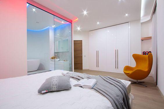 armarios dormitorio principal Studio Apartment in St. Petersburg by G-DESIGN Studio (17)