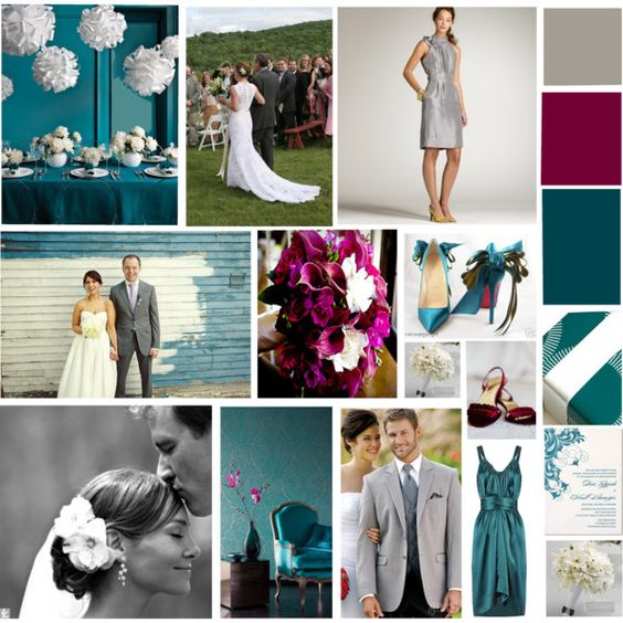 """Jewel Toned Wedding"" by lca315girl on Polyvore"
