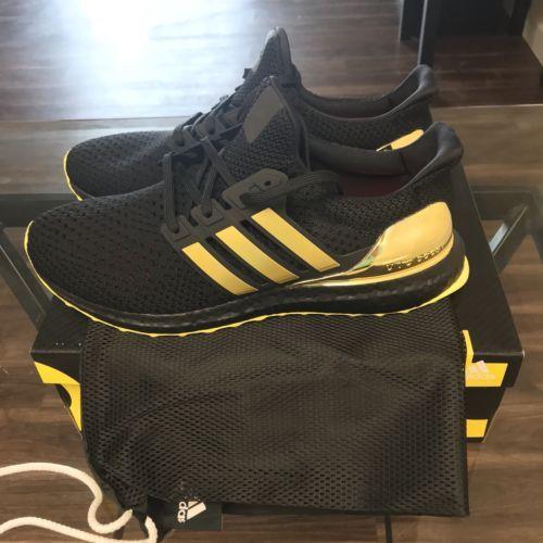 Adidas Ultra Boost 3.0 Black gold Camo