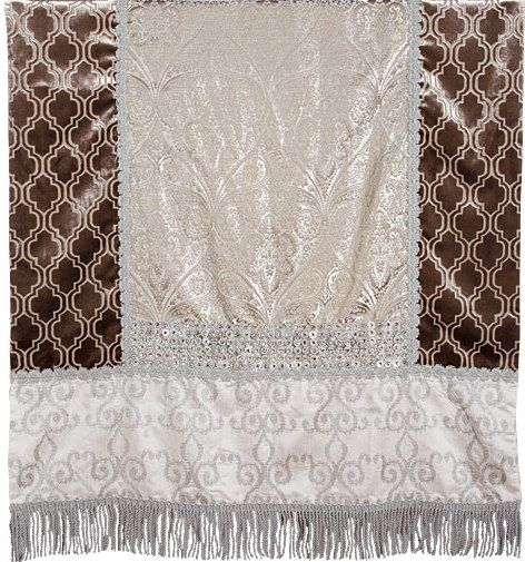 Finish your rooms for Holiday Entertaining with Luxury Throws by Reilly-Chance Collection: #Harlow...(45x72)