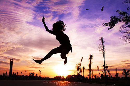 #sunset #colors #jump