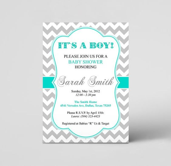 baby boy shower invitation diy printable baby shower invitation
