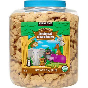 Kirkland Signature Organic Animal Crackers 4 Lbs In 2020 Animal