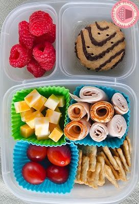 diy lunchable super simple to finish out the week packed in easylunchboxes containers. Black Bedroom Furniture Sets. Home Design Ideas