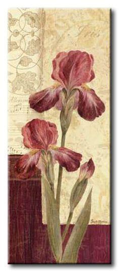 GlA_492_Quattro Sonata III / Cuadro Flores, Flor Vintage