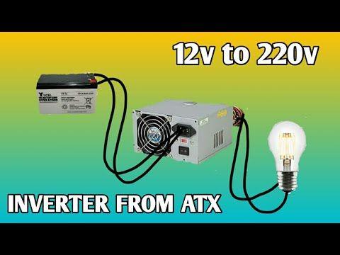 Inverter 12v To 220v From Atx Psu How To Make Inverter From