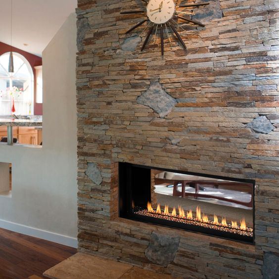 Venice Lights by Astria - This stunning contemporary fireplace is ...